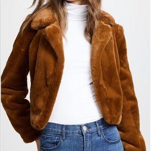 Blank NYC faux fur coat